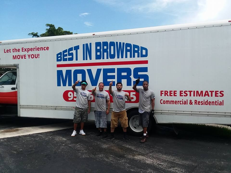 Need movers in Fort Lauderdale? - Best In Broward is at your service.