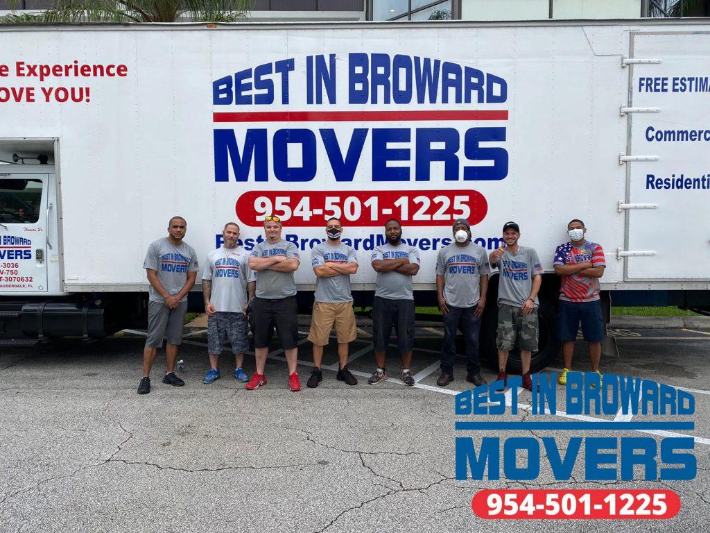 Best in Broward Movers team 1
