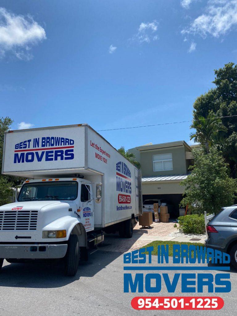Best in Broward Movers truckss