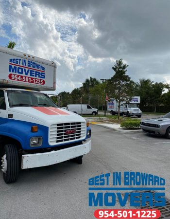 Best in Broward Movers small truck