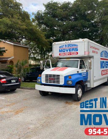 Best in Broward Movers trailer