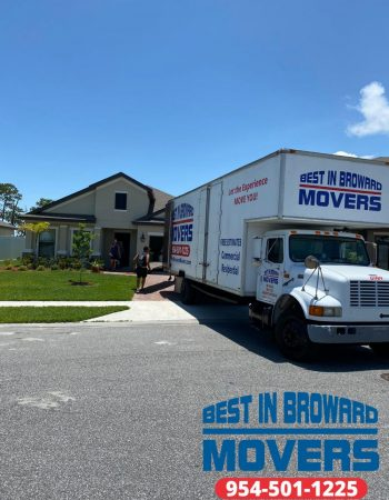 Best in Broward Movers truck carrier