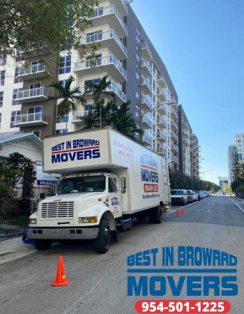 Best in Broward Movers truck