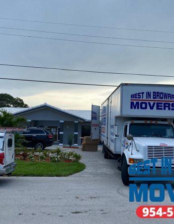 Best in Broward Movers truck vehicles